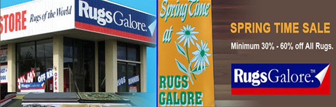 New Style Winter Sale at Rugs Galore
