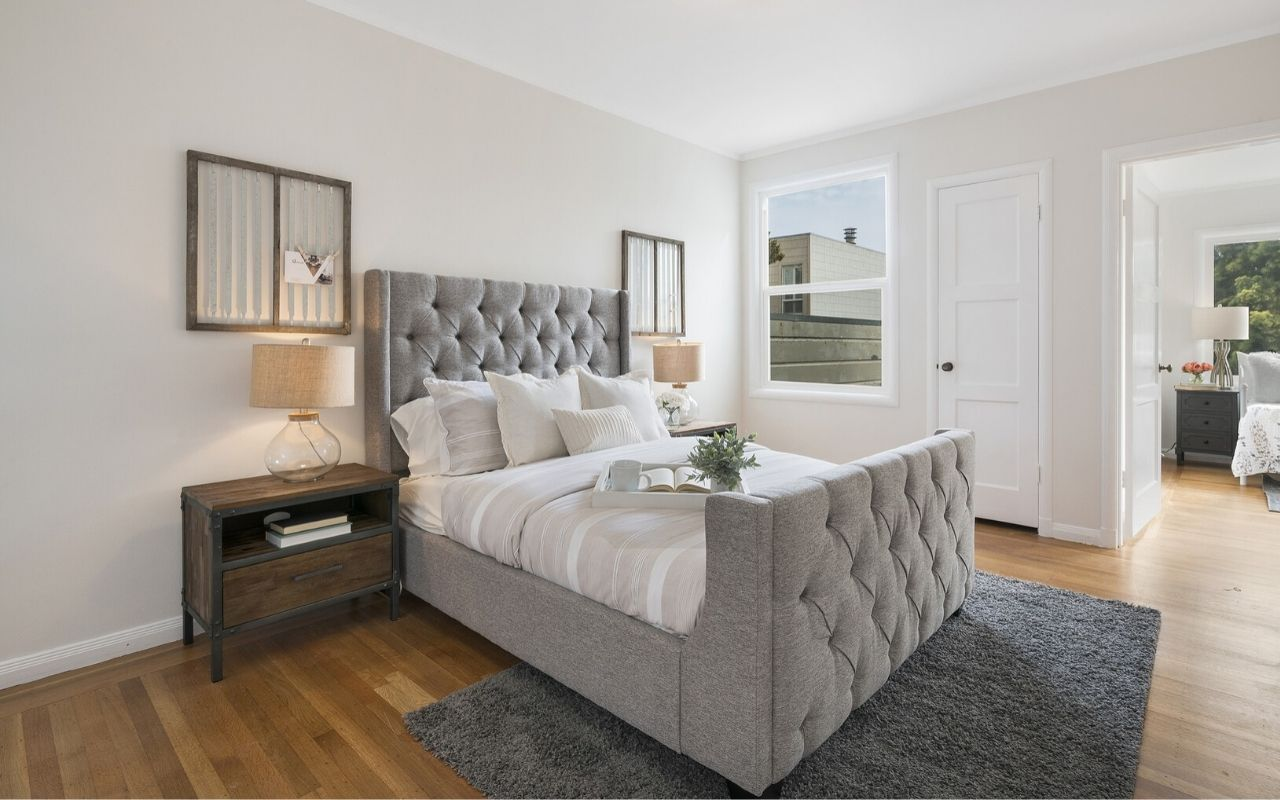 Master Bedroom Rug Placement Ideas