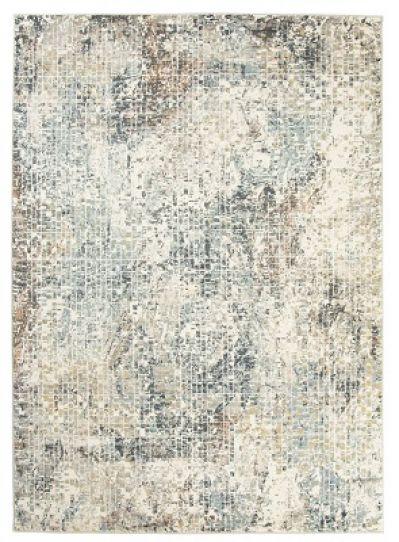 Cowhide leather patchwork rug