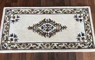22 WOOL RECTANGLE IVORY